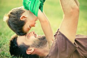 Самый лучший папа на свете - это тот на кого равняются дети