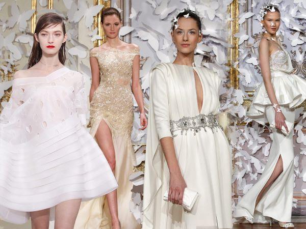 Свадебная мода 2017