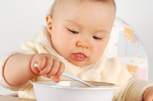 Как научить ребенка кушать ложкой самостоятельно