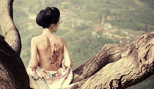 Био тату хной - временная татуировка хной