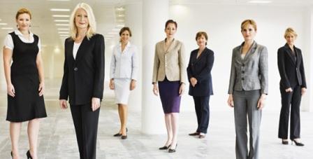 Дружный коллектив женщин