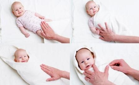 Как правильно пеленать новорожденного ребенка дома