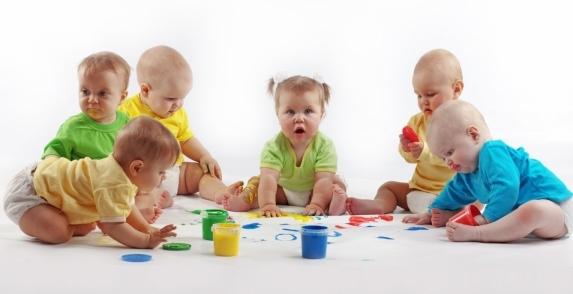 Учим рисовать ребёнка - первый урок рисования