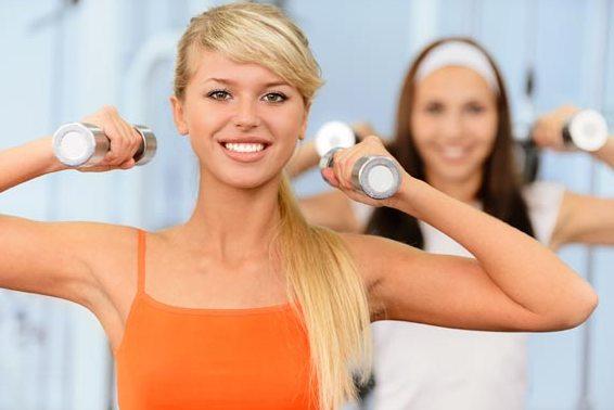 Упражнения для женской груди, как укрепить мышцы груди