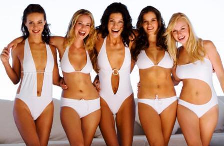 Как подобрать купальник по фигуре - типы фигуры женщины