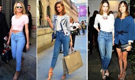 Как носить Mom Jeans (Мом Джинс)