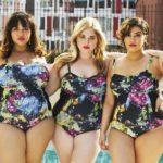 Купальники для полных женщин: слитные и раздельные модели
