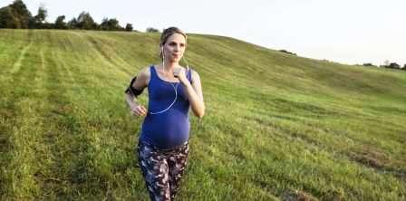 Мнение врачей о беге во время беременности