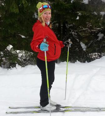 Лыжный спорт во время беременности