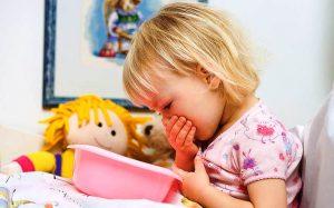 Первая помощь при рвоте у ребенка: что делать если малыша рвет