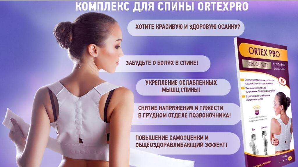 ORTEX PRO (Ортекс Про): комплекс для спины. Описание и принцип действия магнитного жилета