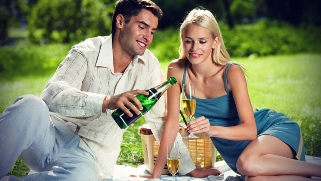 Романтическое свидание для двоих с мужем