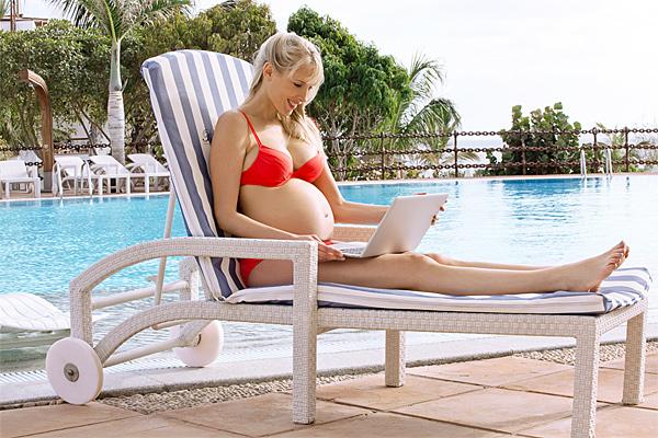 Загар при беременности вреден или полезен для будущего ребенка