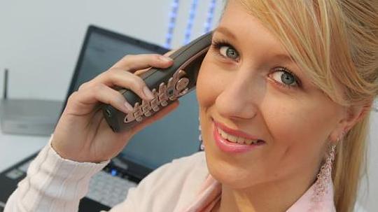 Залог успеха, телефонные переговоры