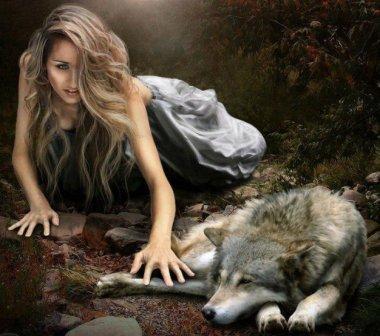 Женщина-волк