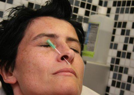 Первый пирсинг носа