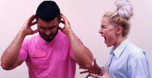 Мужчины во время ссоры: поведение
